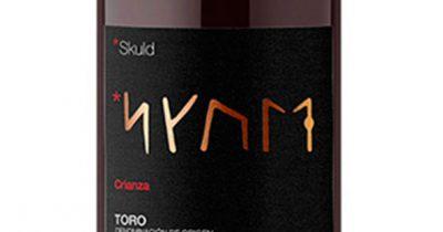 Diseño de la etiqueta para el vino SKULD Crianza Toro