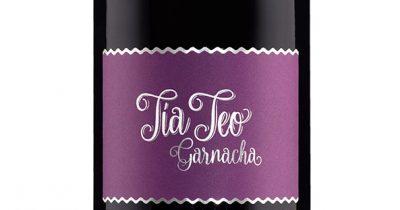 Diseño de etiqueta vino Tía Teo Garnacha