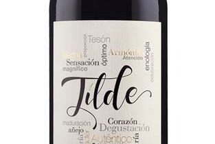 Etiqueta para el vino Tilde Crianza