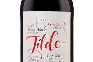 Etiqueta para el vino Tilde Roble