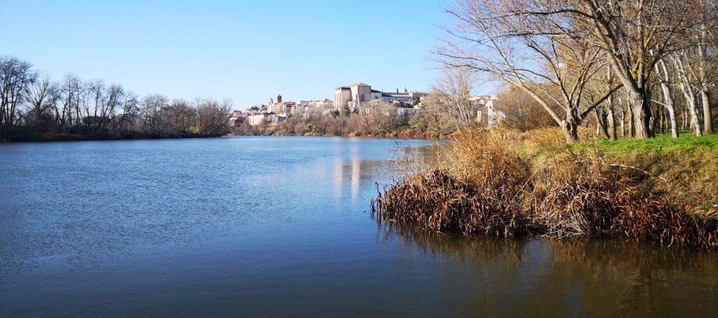 El Duero en Tordesillas, Valladolid